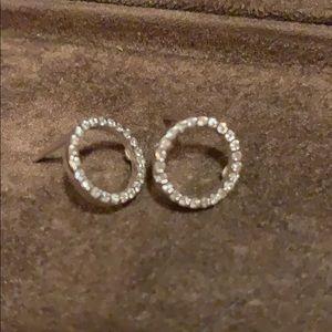 ROBERTO COIN DIAMOND EARRINGS